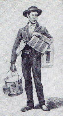 Uma das figuras típicas da Lisboa de antanho era o Azeiteiro