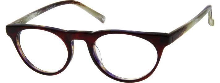 Women's Red 4897 Acetate Full-Rim Frame | Zenni Optical Glasses-xdegS7Jg