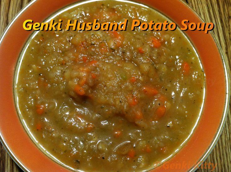 Genki Husband Potato Soup Recipe  vegan