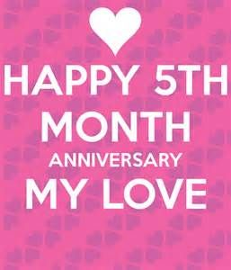 HAPPY 5 MONTH ANNIVERSARY - - Yahoo Image Search Results