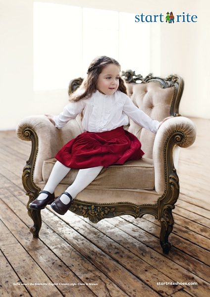 Startrite Children's shoe Campaign