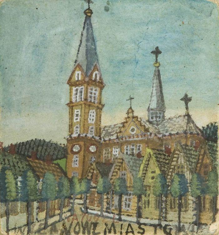 Nikifor Krynicki - Kościół