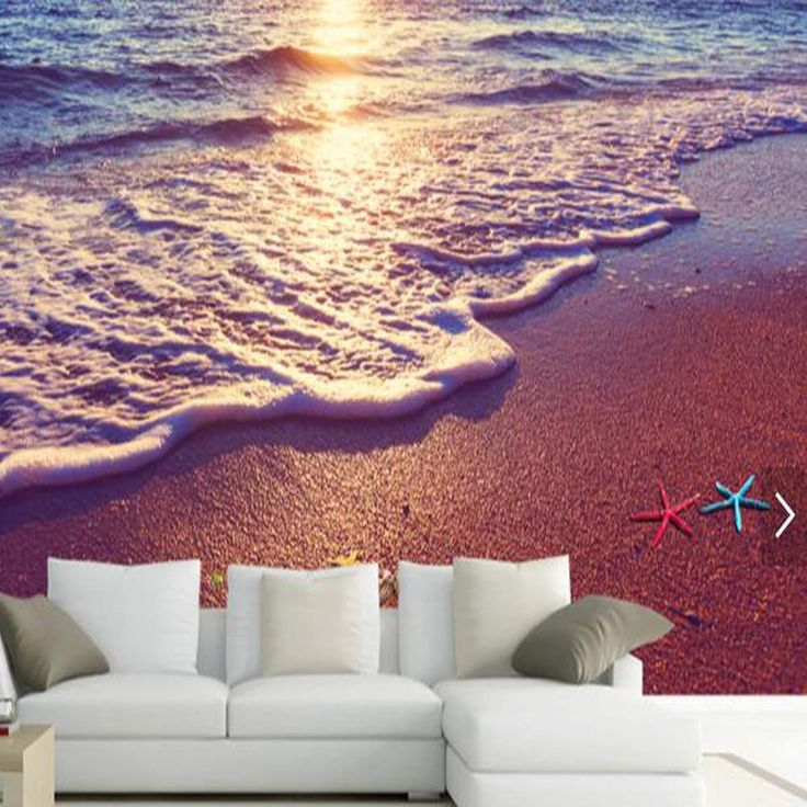 Find More Wallpapers Information About 3D Beach Mural Wallpapers For  Sitting Room Living Room Wall Art Part 34