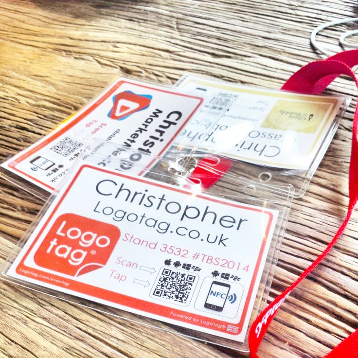 All of our #eventag name tags are totally bespoke for your event and even come equipped with #QR #contactless #NFC and even #GoogleAnalytics to maximise your networking. Simple and effective #logotag