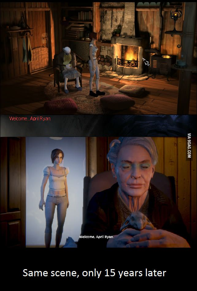 The Longest Journey (1999) and Dreamfall Chapters (2014)