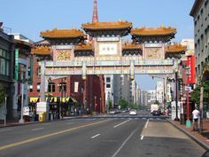 What to See in Chinatown in Washington, DC: Chinatown's Friendship Arch
