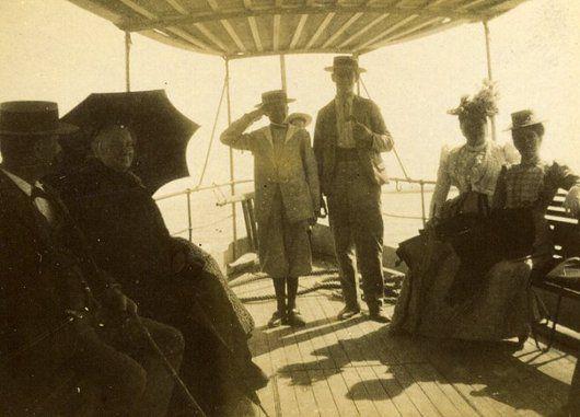 En bateau vers l'île St-Pierre