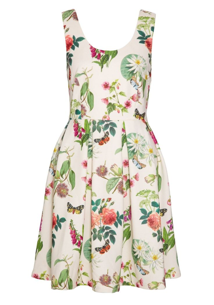 Botanical Posies Dress - NOW IN STOCK!