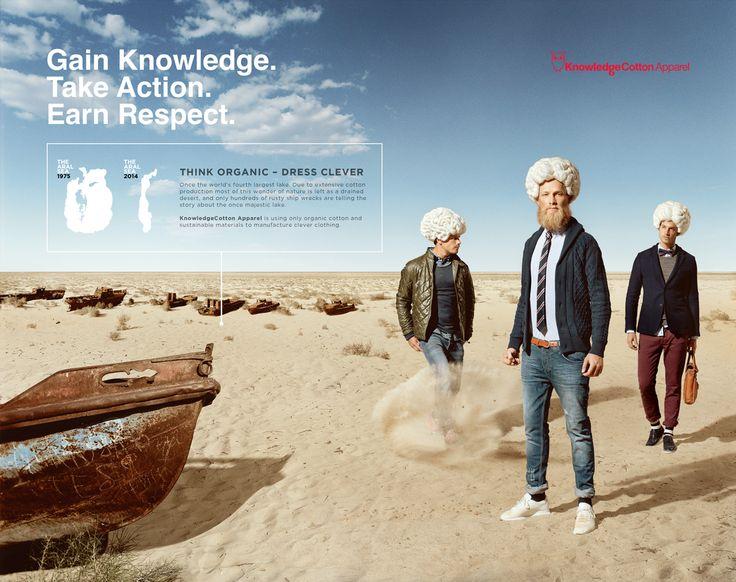 Økologisk herretøj fra Knowledge Cotton Apparel.