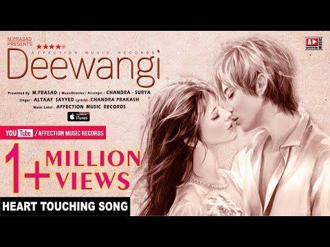 Heart Touching Love Song-Deewangi-Ummeed KartaHun   Latest Hindi Song 2017 #Affection Music Records - YouTube