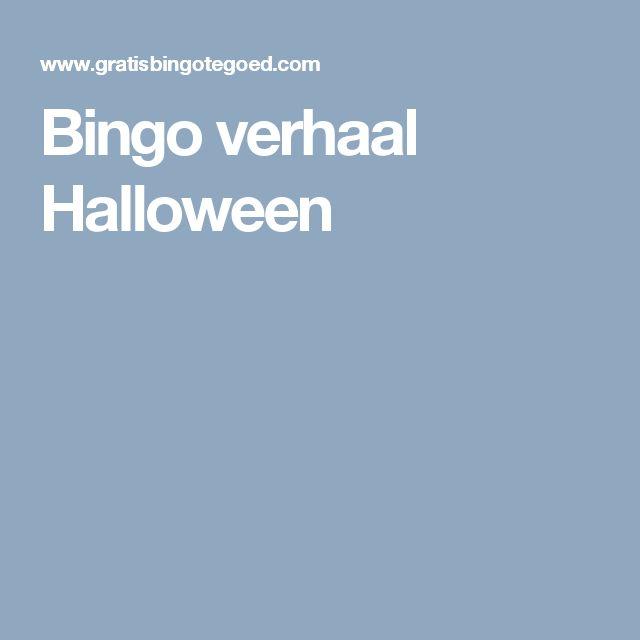 Bingo verhaal Halloween