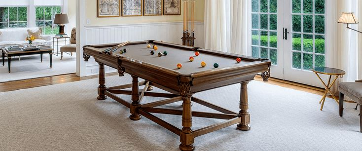 Handcrafted Pool Tables & Pool Table Supplies - Blatt Billiards Handcrafted Pool Tables