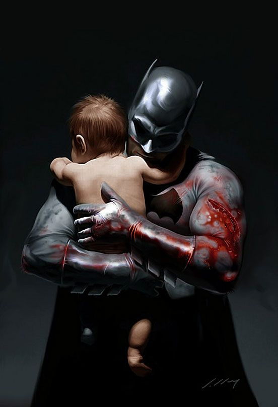 I think this is my new favorite Batman image