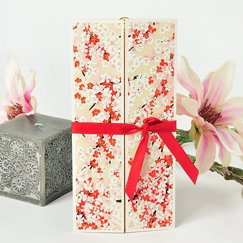Cherry Blossom Japanese Stationery from Azulsahara