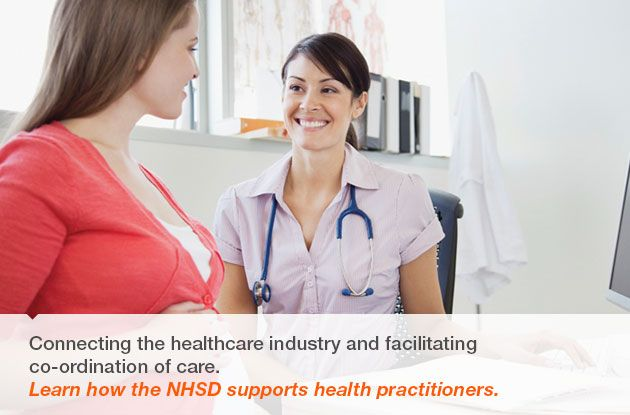 Learn how the NHSD supports health practitioners.
