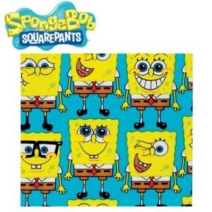 Vul deze traktatie zakjes met cake, koekjes of andere lekkere traktaties. Deze SpongeBo SquarePants zakjes zijn ook leuk voor het verpakken van bijvoorbeeld cadeaus.