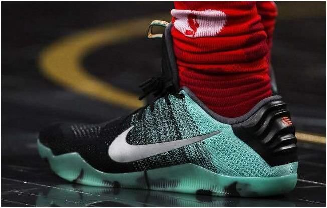 pretty nice b198d c36bd Nike Kobe 11 XI All Star Green Grey Black   Kobe 11 Men shoes for sale   Nike  basketball shoes, Kobe bryant shoes, Kobe 11