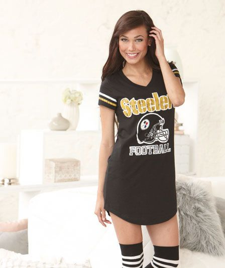 Women's NFL Nightshirt in a Can