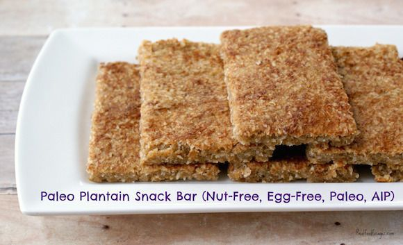 Recipe:  Paleo Plantain Snack Bar (Nut-Free, Egg-Free, Paleo, AIP) post image