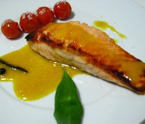 Cómo preparar salmón a la plancha con salsa bearnesa - DELICOSO #comidasana #RecetasSanas #pescado #salmon