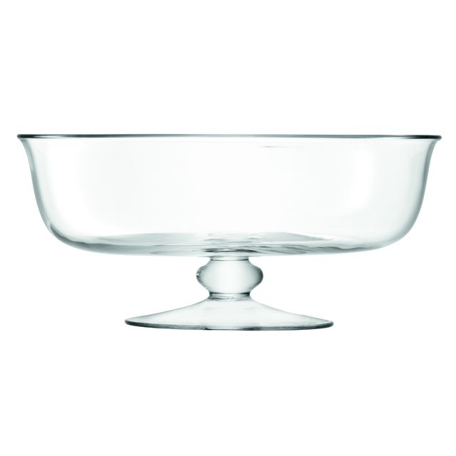 With its elegant wide bowl and footed base, this handmade comport is gift-boxed and ideal for serving winter and summer desserts and presenting seasonal fruits.