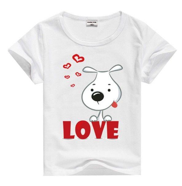Dětské krásné tričko s krátkým rukávem love – détká trička + POŠTOVNÉ ZDARMA Na tento produkt se vztahuje nejen zajímavá sleva, ale také poštovné zdarma! Využij této výhodné nabídky a ušetři na poštovném, stejně jako …