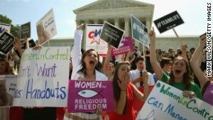 This article discusses the Supreme Court ruling in the Hobby Lobby case that certain for-profit companies can cite religion to avoid providing contraceptive coverage to their employees