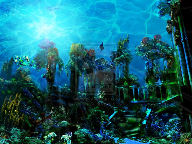 Real Underwater Ruins 78 Best images about R...