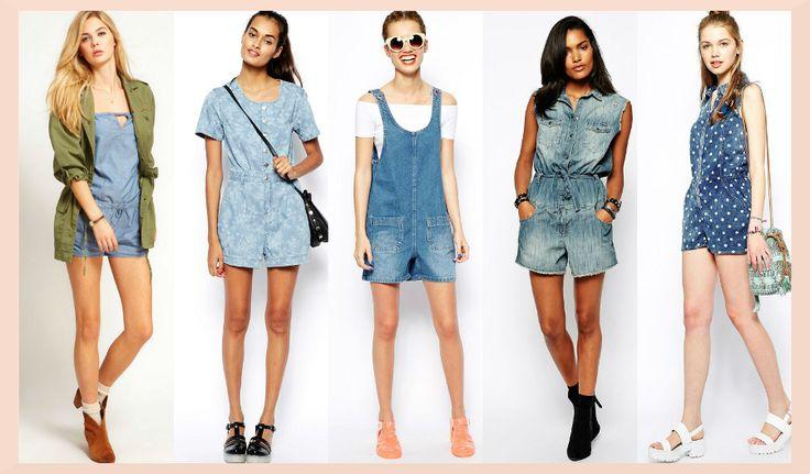 Ultimele tendinte in #moda #salopetelor de vara. #stil #haine #tendinte #imbracaminte