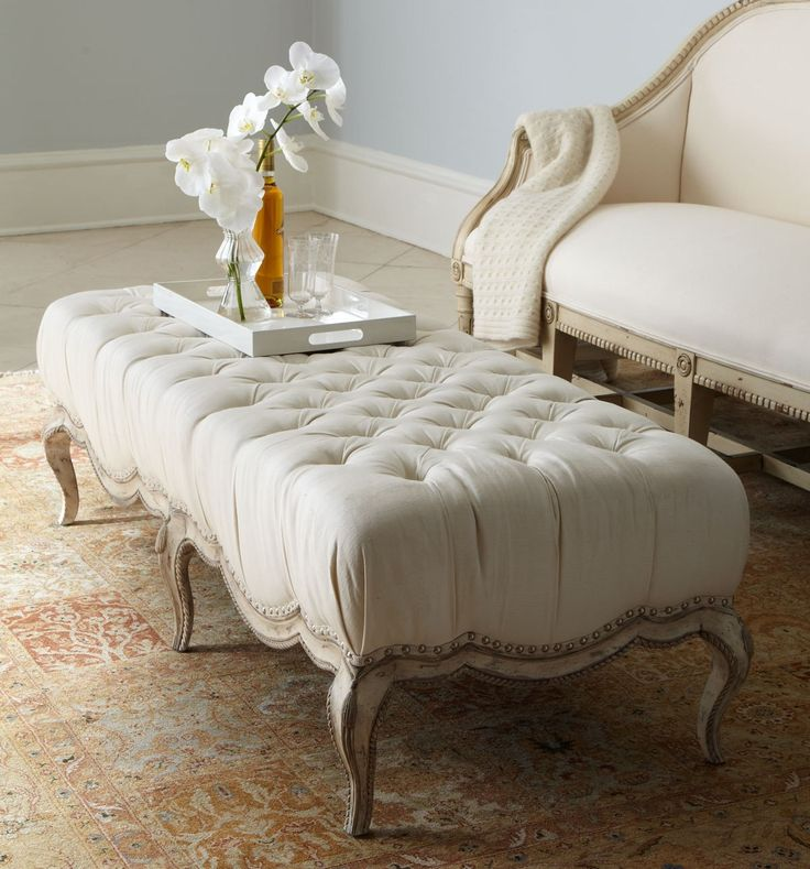 8 Plush Tufted Ottomans To Add Comfort And Functionality To Your Living  Space Great Pictures