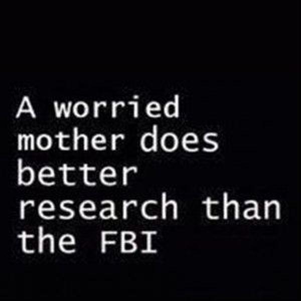 Une mère inquiète fait de meilleures recherches que le FBI