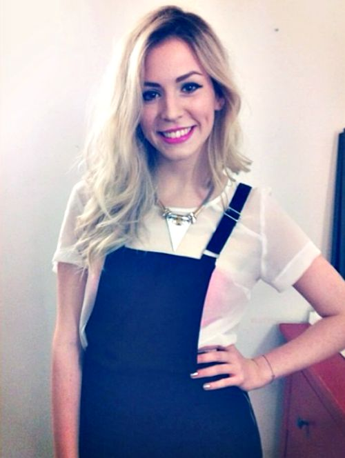 Gemma Styles. Wow she looks exactly like Harry, she's so pretty