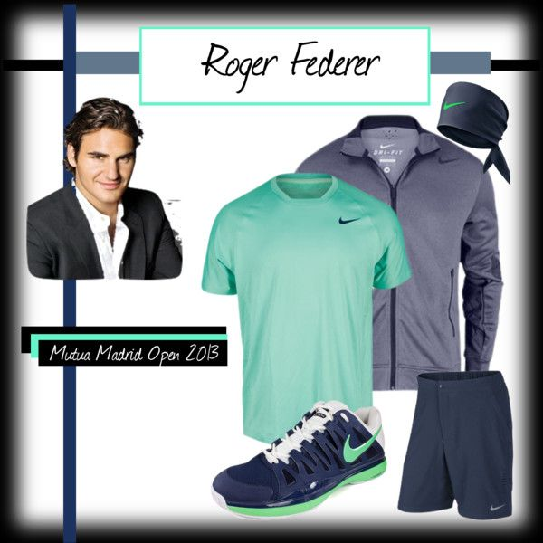 European Clay Courts 2013 Roger Federer By Tennisexpress On