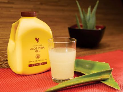 Pure aloe vera juice containing more than 200 nutritional compounds! A cup of aloe a day keeps the doctor away :)