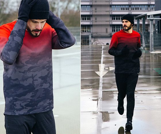 Get this look: http://lb.nu/look/8656981  More looks by Maik: http://lb.nu/maik_kaiser  Items in this look:  Puma Shirt, Puma Trousers, Puma Sneaker   #casual #minimal #sporty #ootd #fitness #running #puma #trapstar #sport