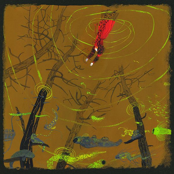 """Семь роз"" Надеи Ясминка, художник Катерина Дубовик / Nadeya Yasminska 'Seven Roses', illustrated by Katerina Dubovik"