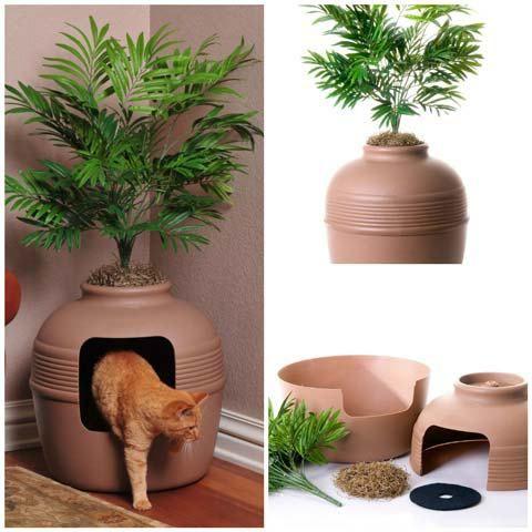 9 façons de cacher la litière de son chat | Blog - Take Me Home
