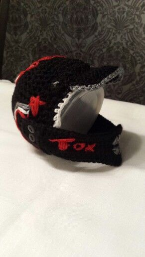 Crochet Baby Hat Baby S First Dirt Bike Helmet Things