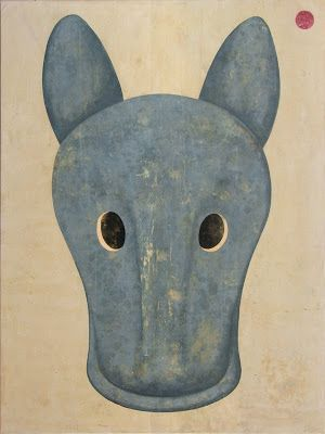 Daniel García - I'll never be your beast of burden, 2010, acrílico sobre lienzo, 200 x 150 cm