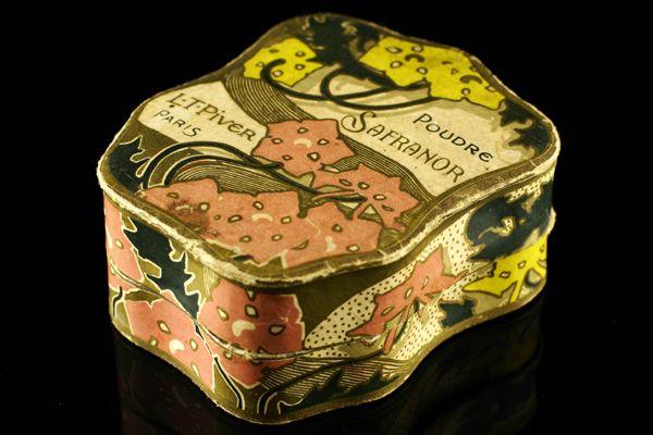 'Safranor' L.T. Piver | Art Francais – Art Nouveau Art Deco glas & parfum