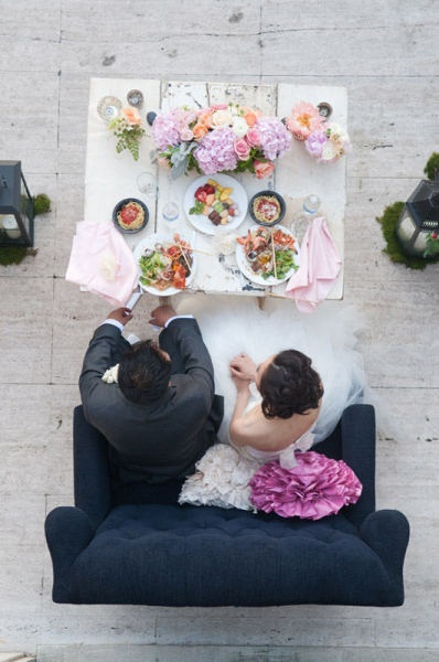 bride and groom table style me pretty gallery picture 232515