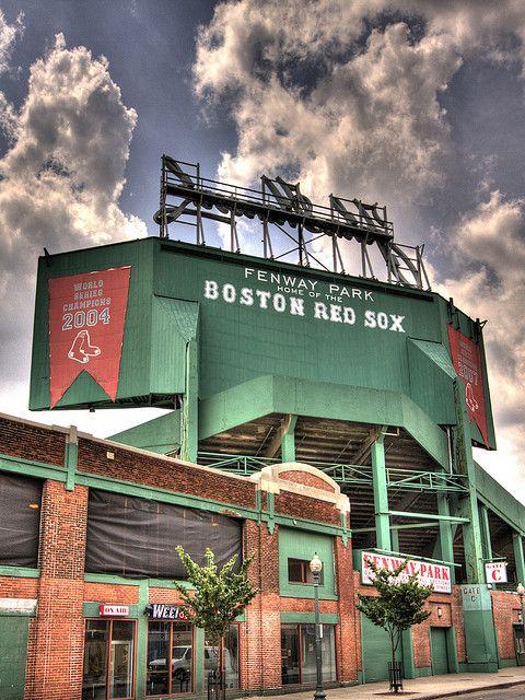 el fenway park el baseball estadio para red sox en el boston el verde monstruo