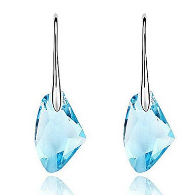 Alloy With Crystal Women's Drop Earrings(More Colors) – AUD $ 4.16