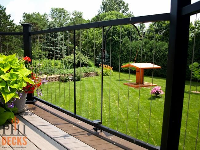 98 Best Images About Fortress Vertical Cable Railing On