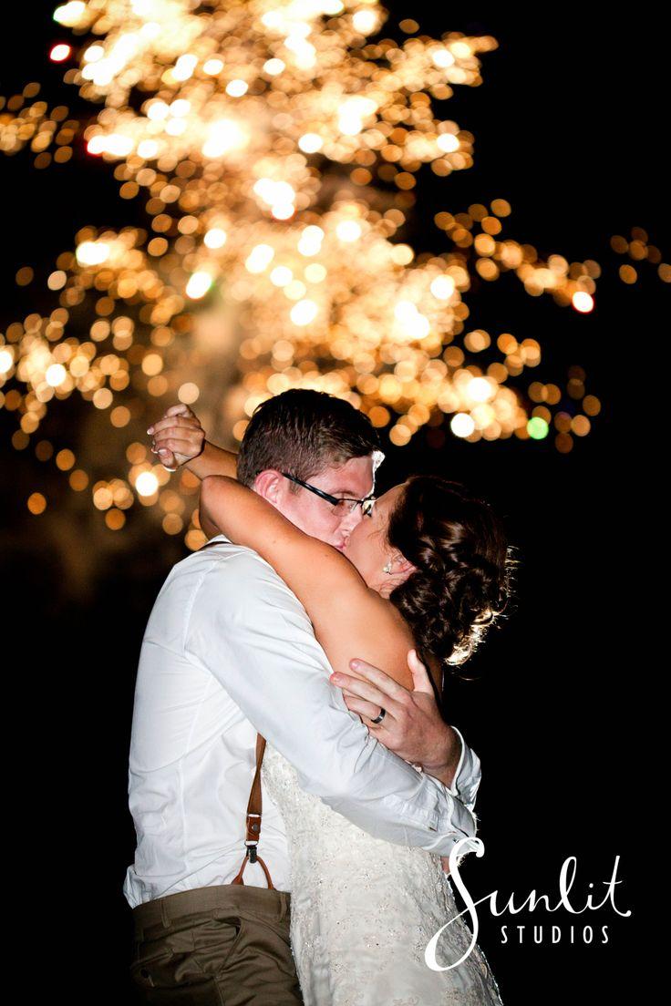 Firework Wedding Photo Ideas, Albert River Wines, Sunlit Studios, Tambourine Mountain Wedding Photos, Flash Photography