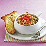 Tuscan-Style Tuna with White Beans Recipe | MyRecipes.com