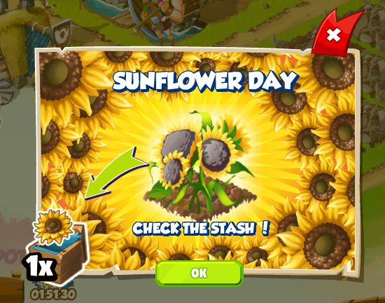 Sunflower Day http://wp.me/p2Wzyb-5C #happytale