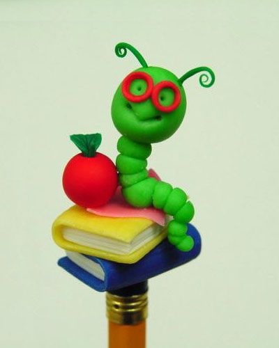 PENCIL TOPPER - SG. gusano