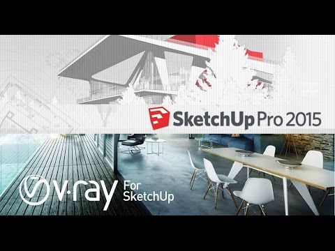 How to Install Google SketchUP 2015   V Ray with Creak   Full Activation