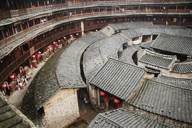 廈門-土樓王 China-Xiamen-Fujian by mawingchung,, via Flickr
